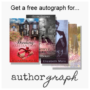 Get your e-book signed by Elizabeth Marx